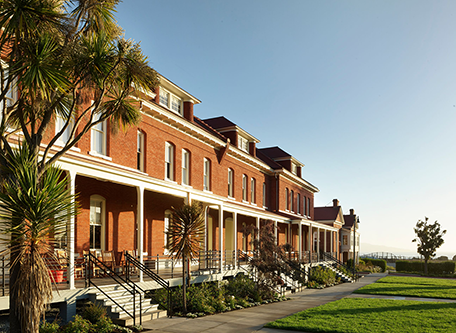Image of Hotel Exterior The Lodge at the Presidio, 1894, Member of Historic Hotels of America, in San Francisco, California, Special Offers, Discounted Rates, Families, Romantic Escape, Honeymoons, Anniversaries, Reunions
