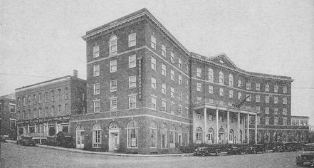 History:      The Hotel Northampton  in Northampton