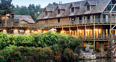Big Cedar Lodge in Ridgedale