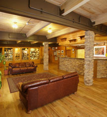 Accommodations:      Zion Lodge  in Springdale