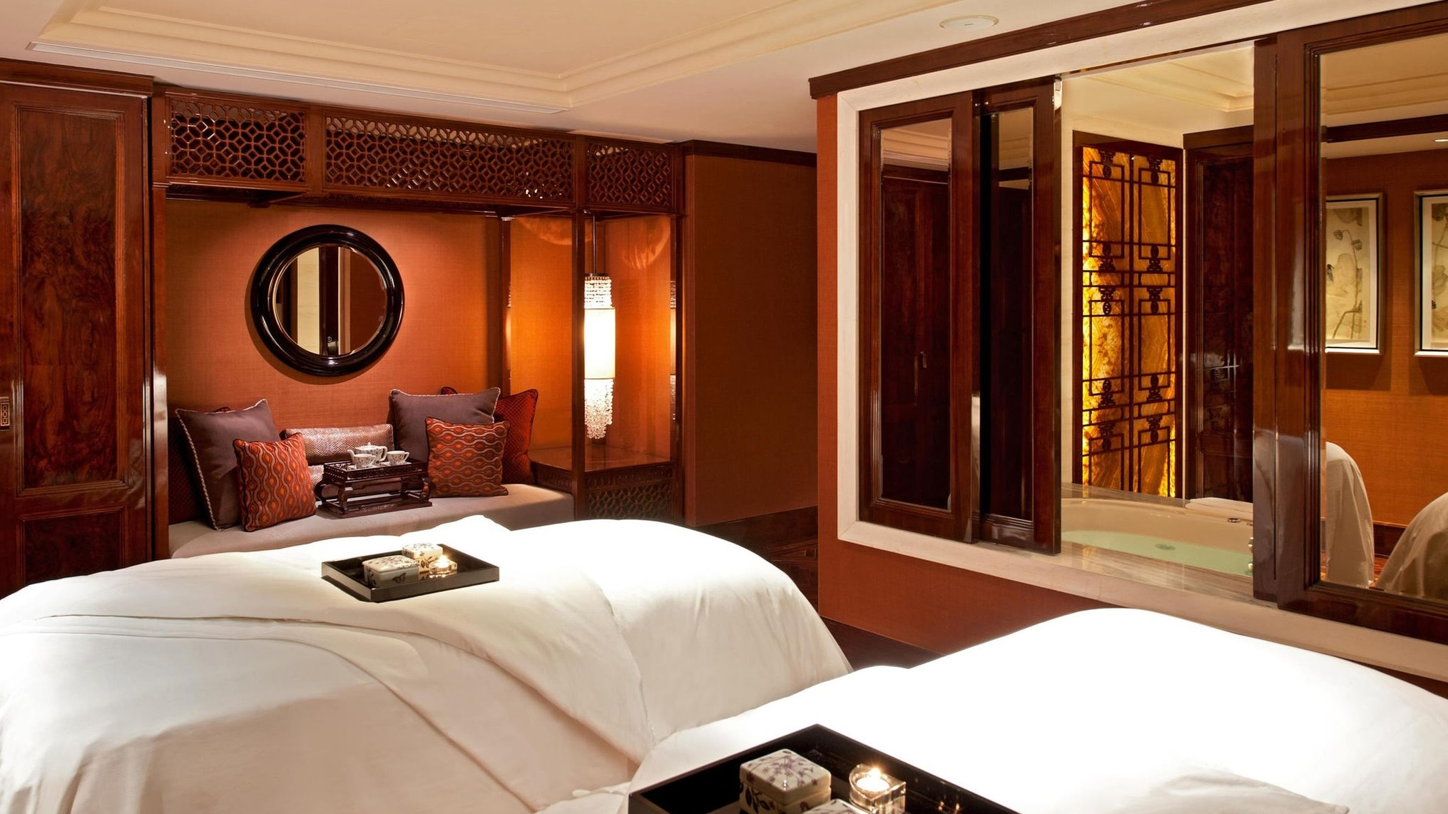 Image of Willow Stream Spa Fairmont Peace Hotel Shanghai China.