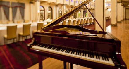 Image of Piano Inside Venue at Fairmont Peace Hotel, 1929, Member of Historic Hotels Worldwide, in Shanghai, China, Hot Deals