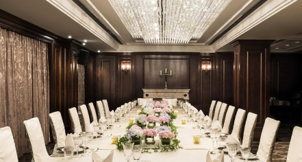 Weddings:      Fairmont Peace Hotel  in Shanghai