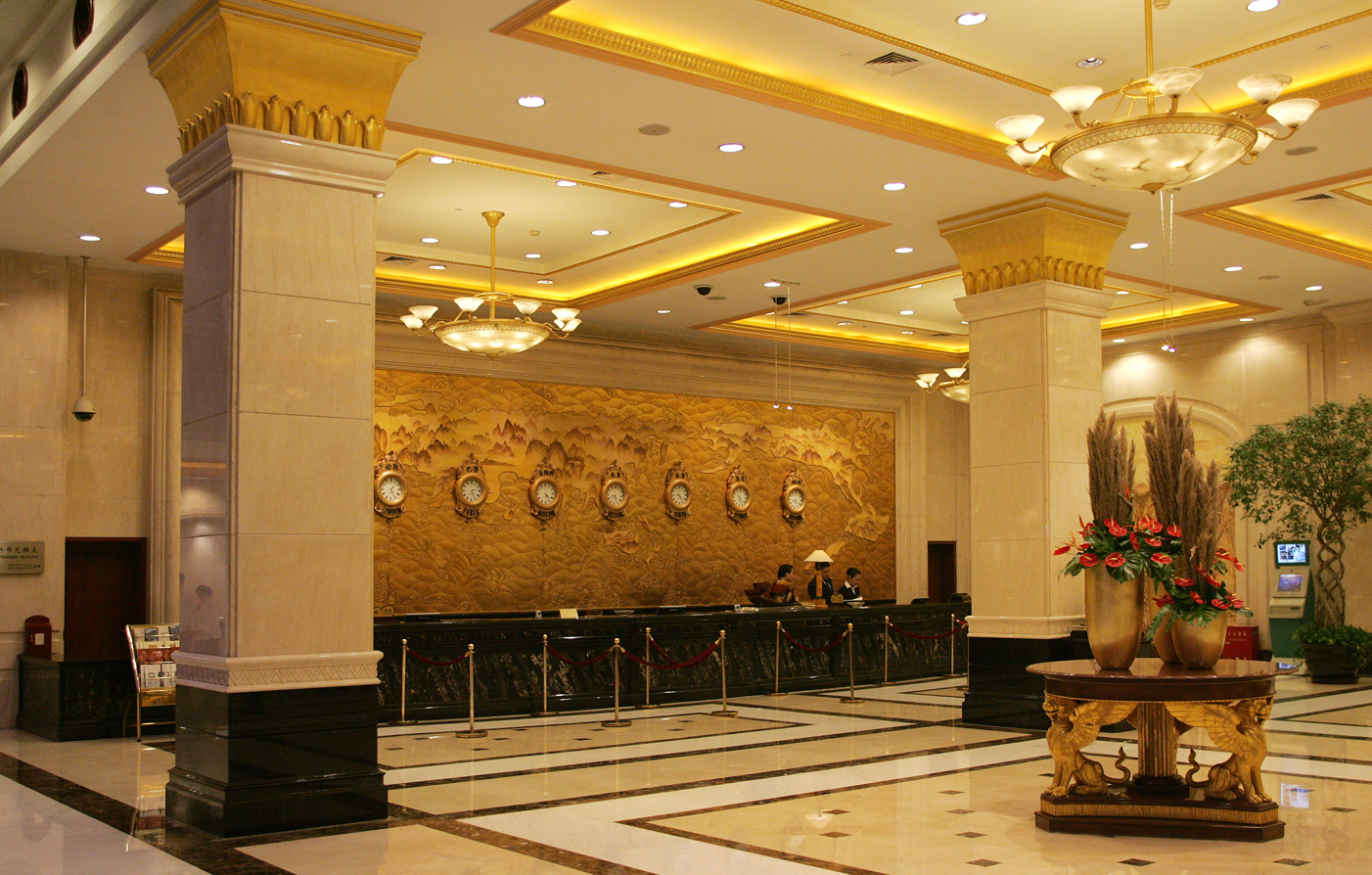 A luxury shanghai hotel on the huangpu river for Ala shanghai chinese cuisine