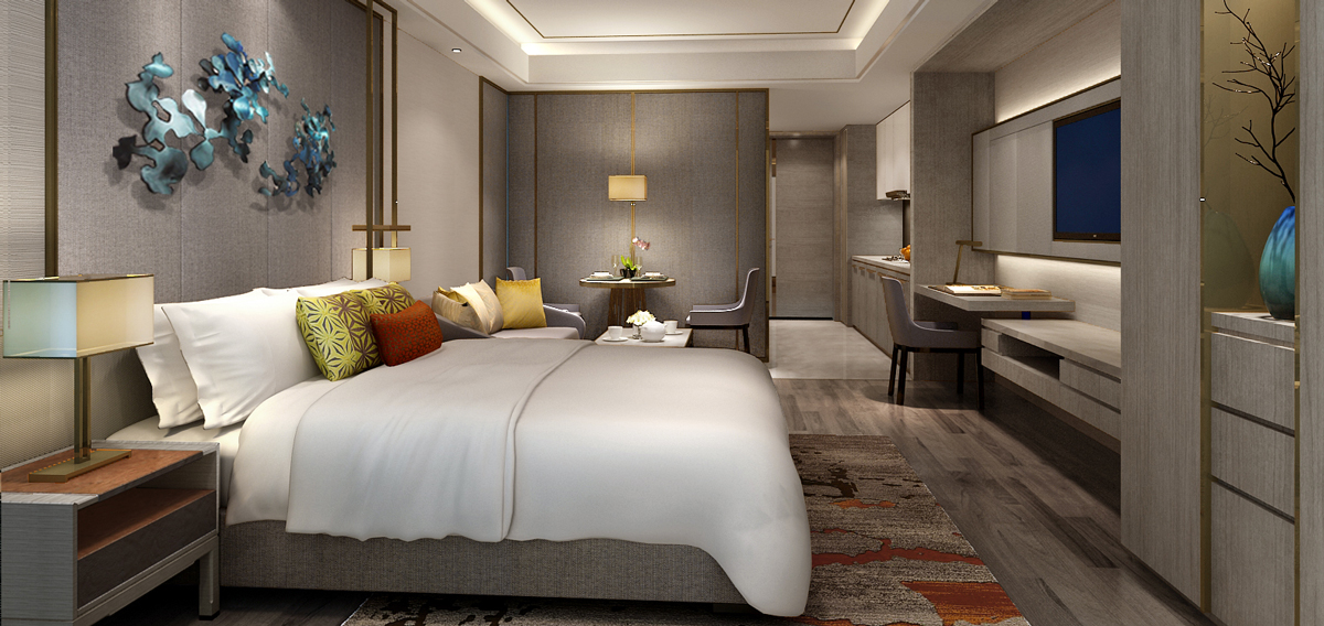 Accommodations:      Primus Residence Shanghai Hongqiao  in Shanghai