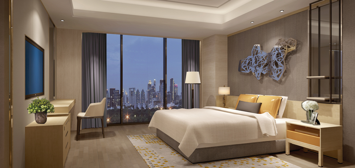 Primus Residence Shanghai Guest Room Overlooking the Shanghai, City View Suite