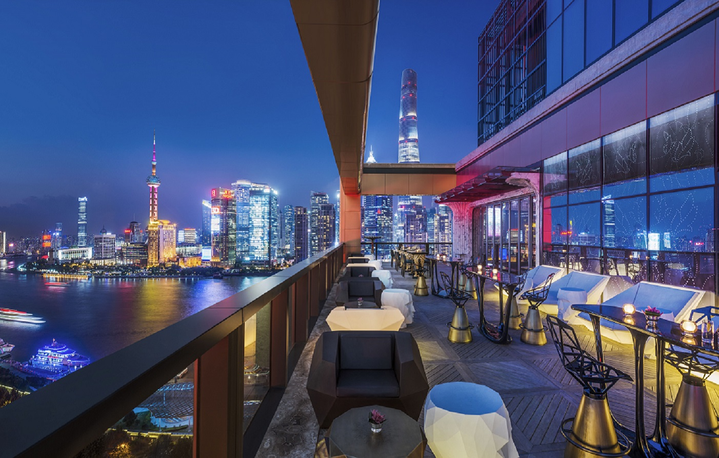 Wanda Reign on the Bund  - Dining