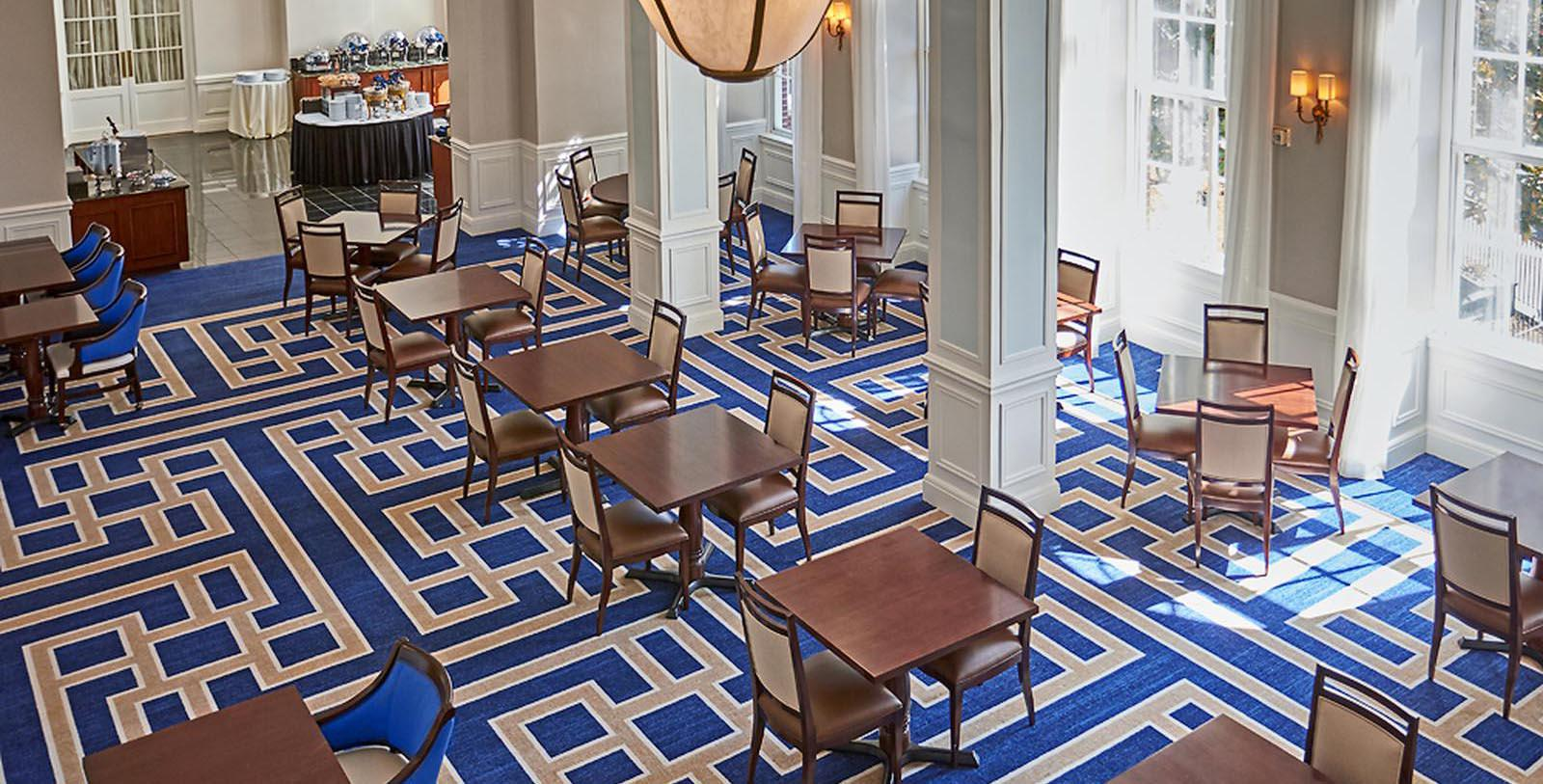 Image of Dining Area Stonewall Jackson Hotel & Conference Center, 1924, Member of Historic Hotels of America, in Staunton, Virginia, Taste