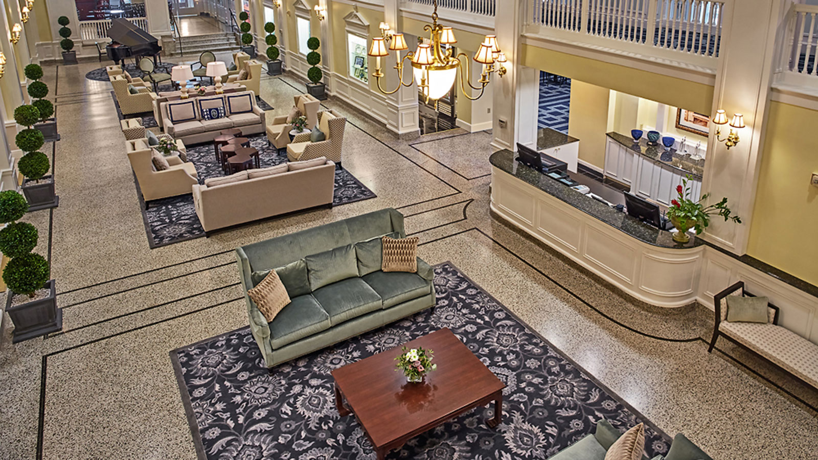 Image of Lobby at Hotel 24 South, , Member of Historic Hotels of America in Staunton Virginia