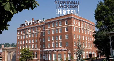 Event Calendar:      Stonewall Jackson Hotel & Conference Center  in Staunton