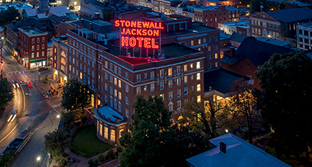 Stonewall Jackson Hotel & Conference Center  in Staunton