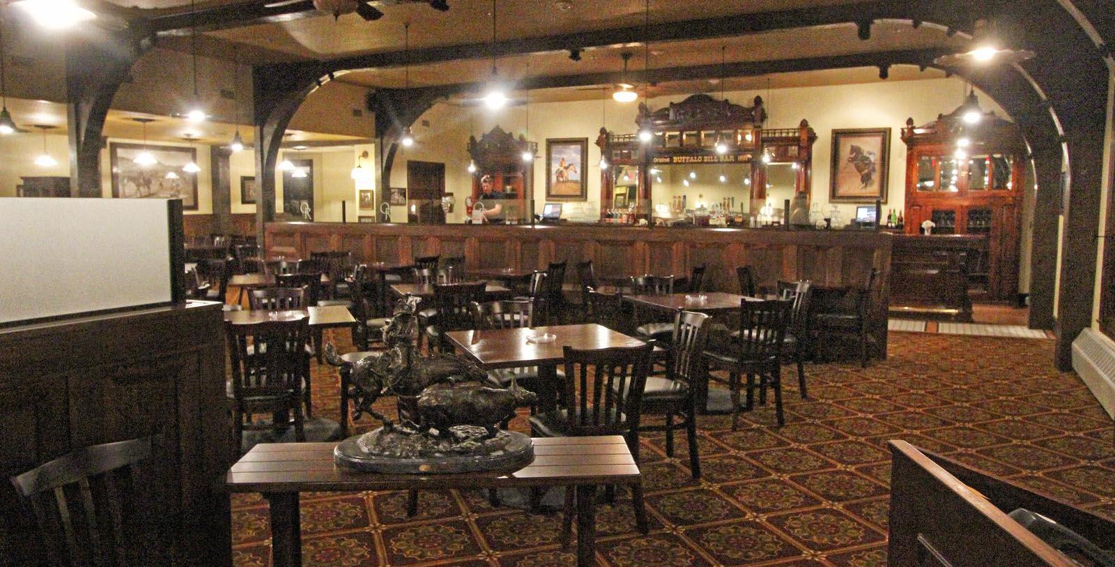 Image of Dining Area Sheridan Inn, 1893, Member of Historic Hotels of America, in Sheridan, Wyoming, Taste