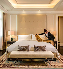 Accommodations:      Sofitel Legend People's Grand Hotel Xian  in Xian