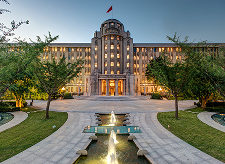Image of Hotel Exterior Sofitel Legend People's Grand Hotel Xian, 1953, Member of Historic Hotels Worldwide, in Xian, China, Special Offers, Discounted Rates, Families, Romantic Escape, Honeymoons, Anniversaries, Reunions