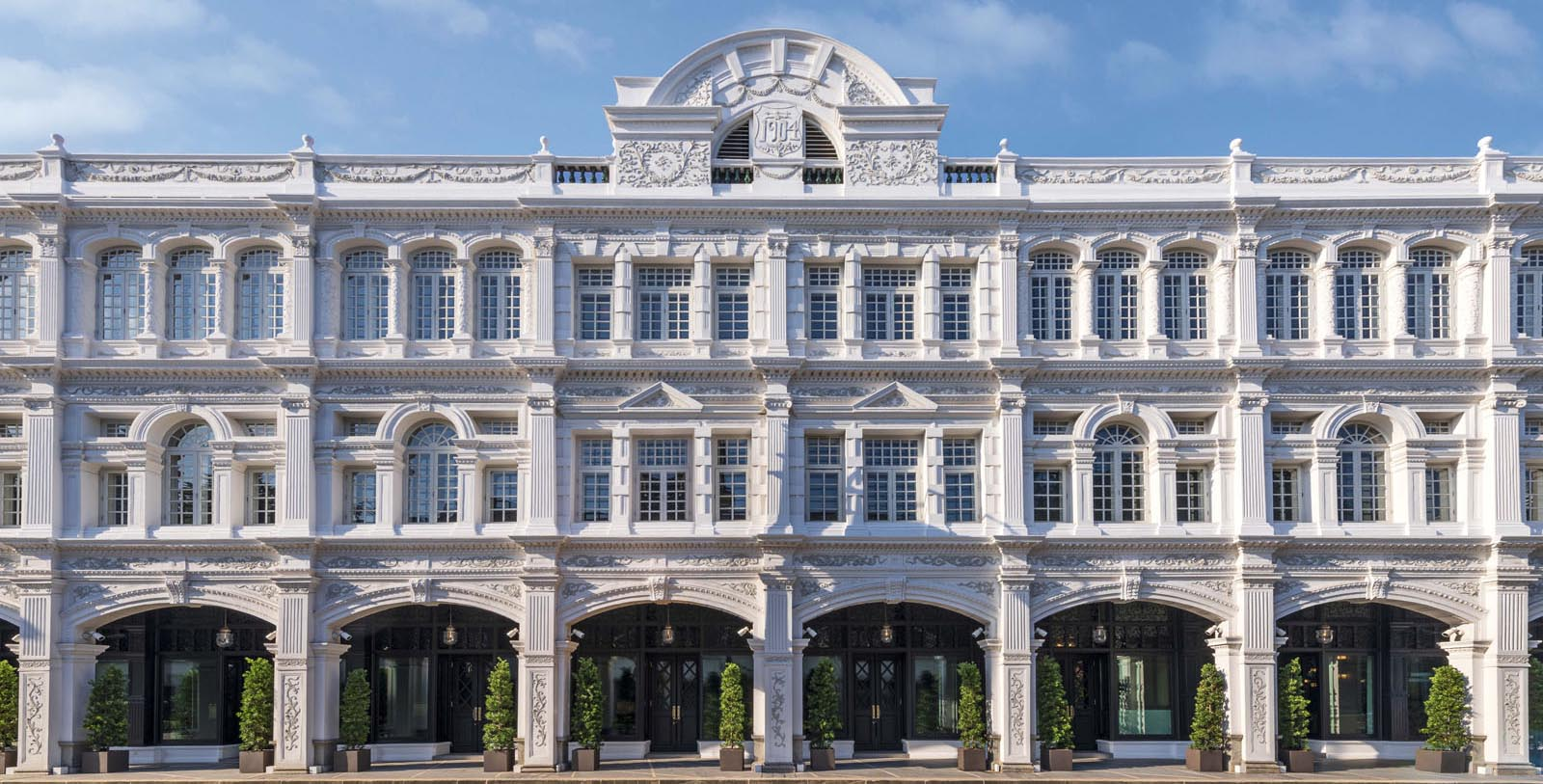 Image of hotel exterior The Capitol Kempinski Hotel Singapore, 1904, Member of Historic Hotels Worldwide, in Singapore, Overview