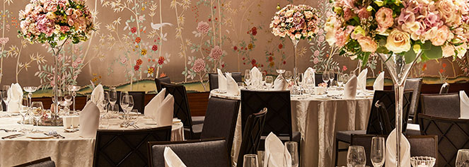 Weddings:      The Capitol Kempinski Hotel Singapore  in Singapore