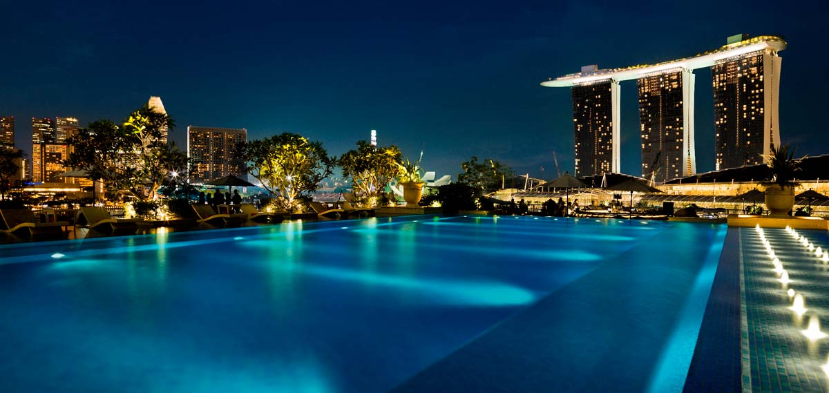 Activities:      The Fullerton Bay Hotel  in Singapore