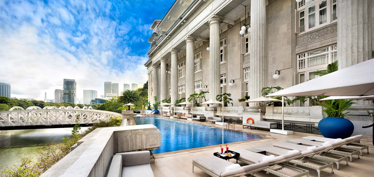 Activities:      The Fullerton Hotel Singapore  in Singapore