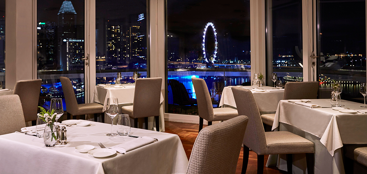 Dining:      The Fullerton Hotel Singapore  in Singapore