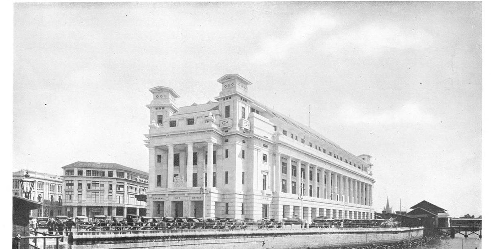 Historic image of the Fullerton Singapore