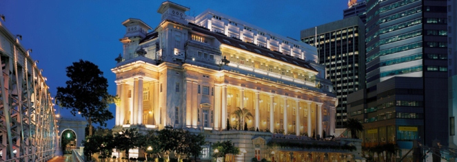 History:      The Fullerton Hotel Singapore  in Singapore