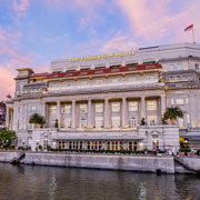 Book a stay with The Fullerton Hotel Singapore in Singapore
