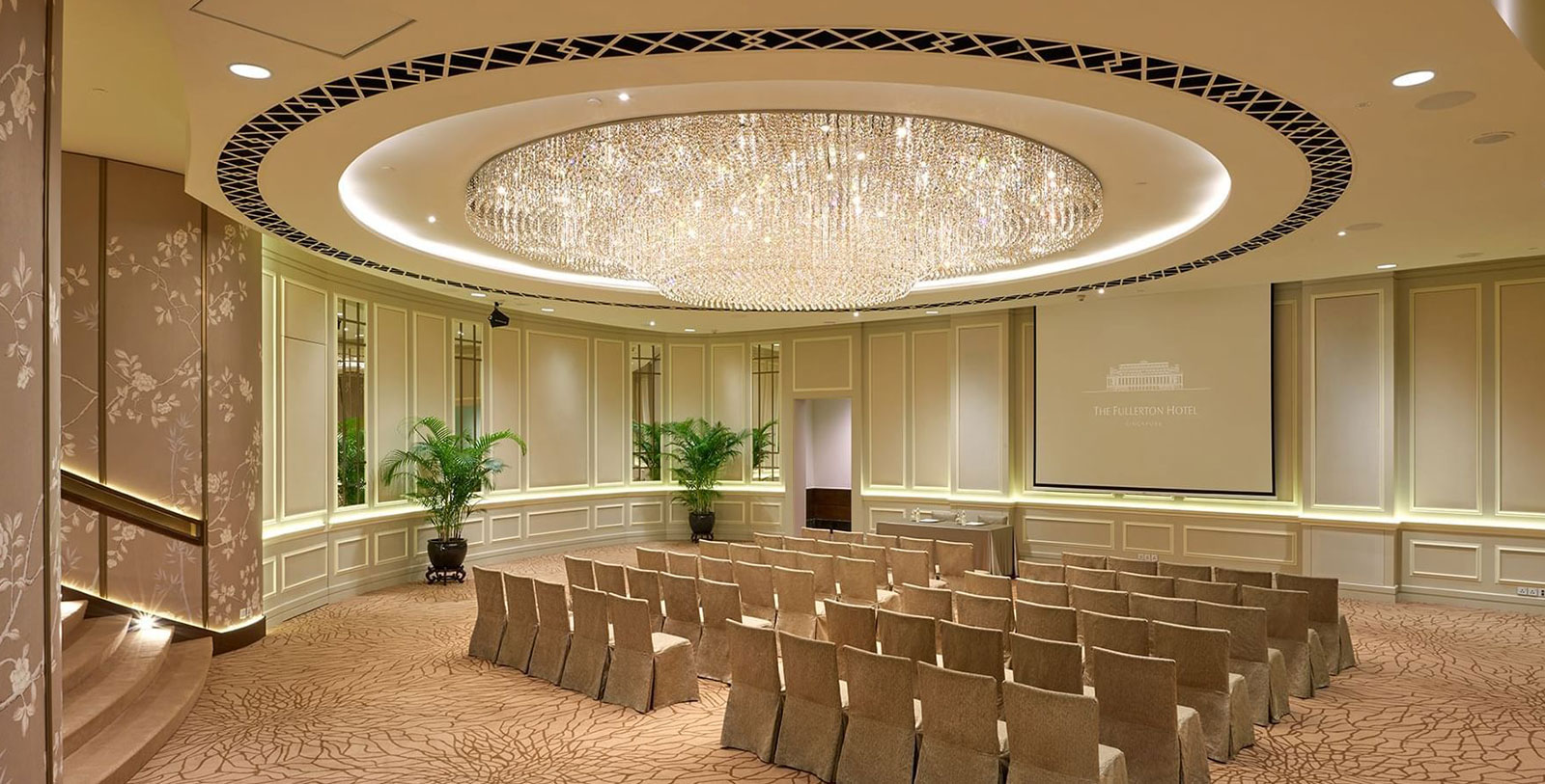 Image of The Ballroom at The Fullerton Hotel Singapore, 1924, Member of Historic Hotels Worldwide, in Singapore, Request for Proposal
