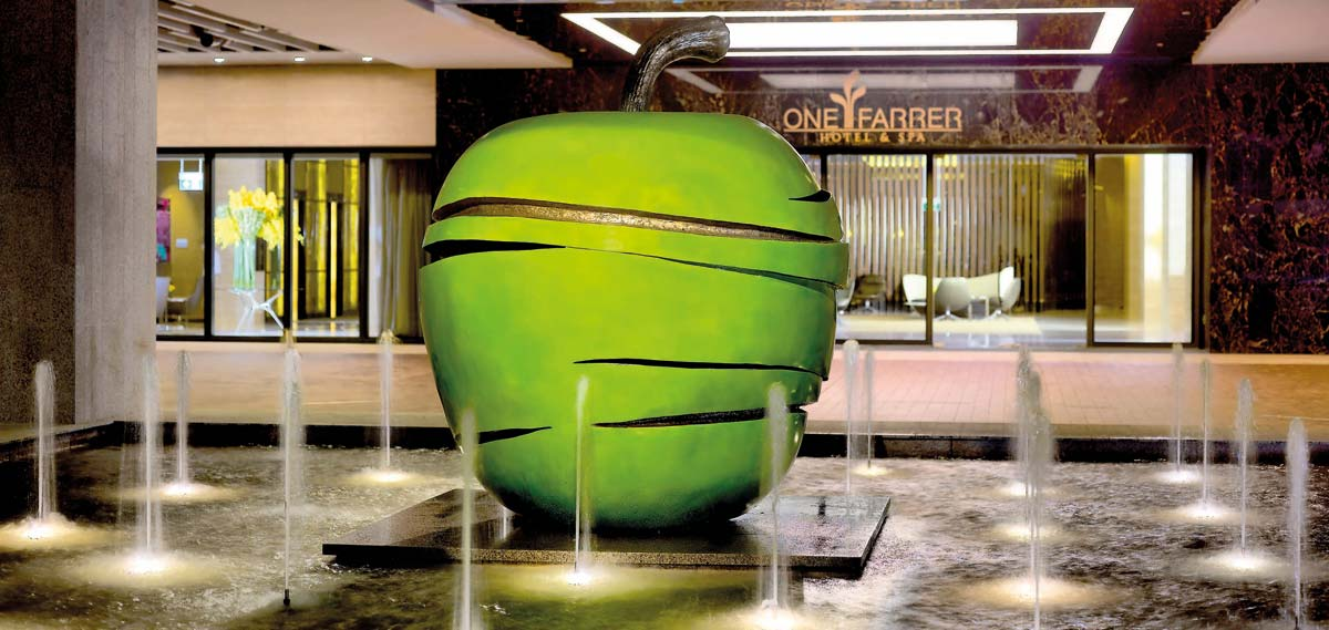 Dining:      One Farrer Hotel & Spa  in Singapore