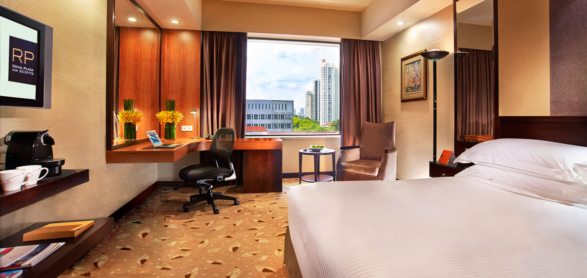 Accommodations:      Royal Plaza on Scotts  in Singapore