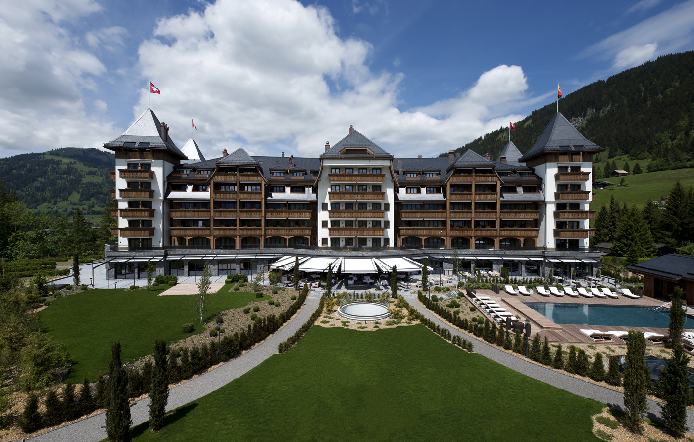 The Alpina Gstaad 5 Star Hotel in Gstaad Preferred Hotels and