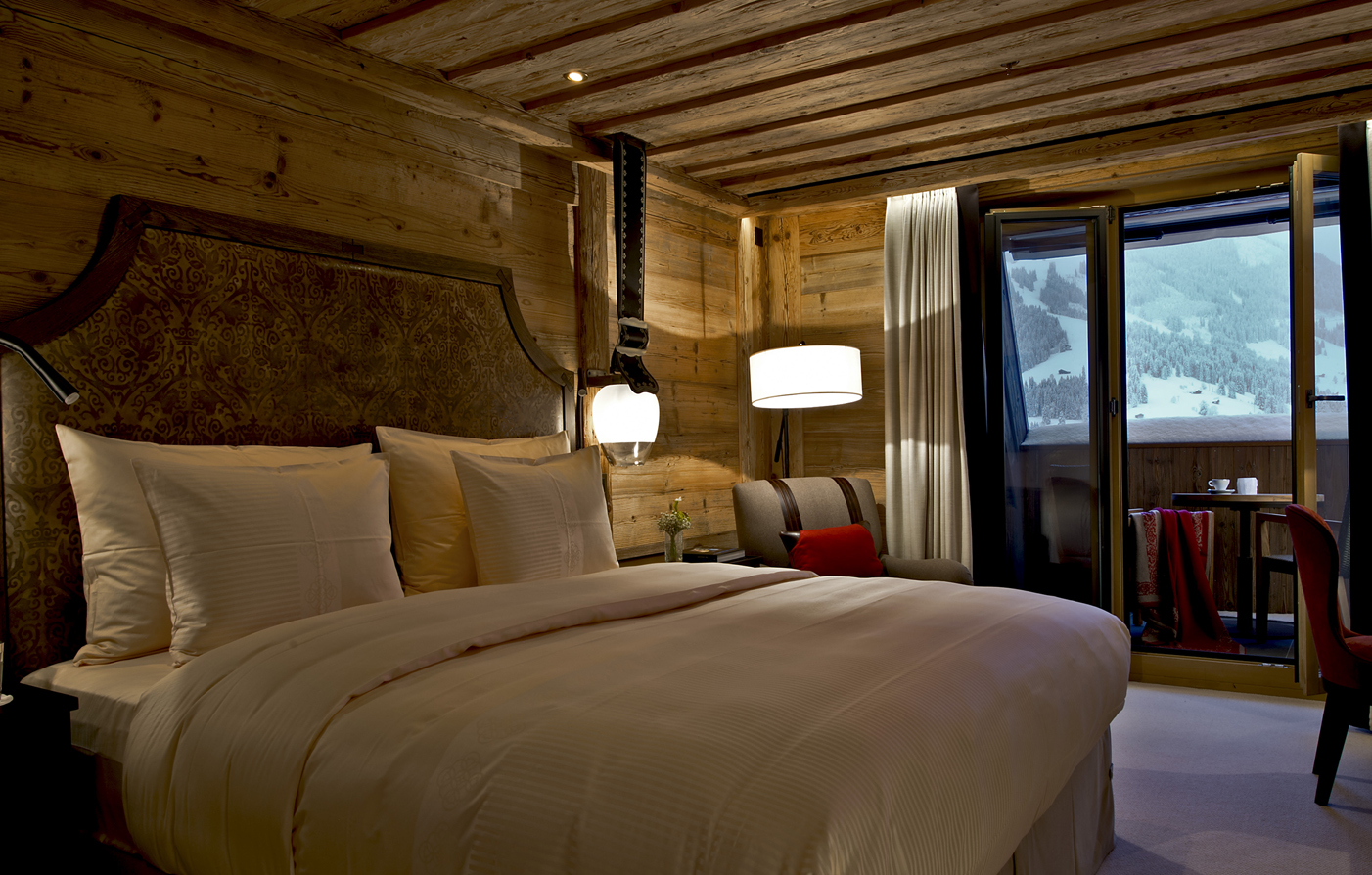 Accommodations:      The Alpina Gstaad  in Gstaad
