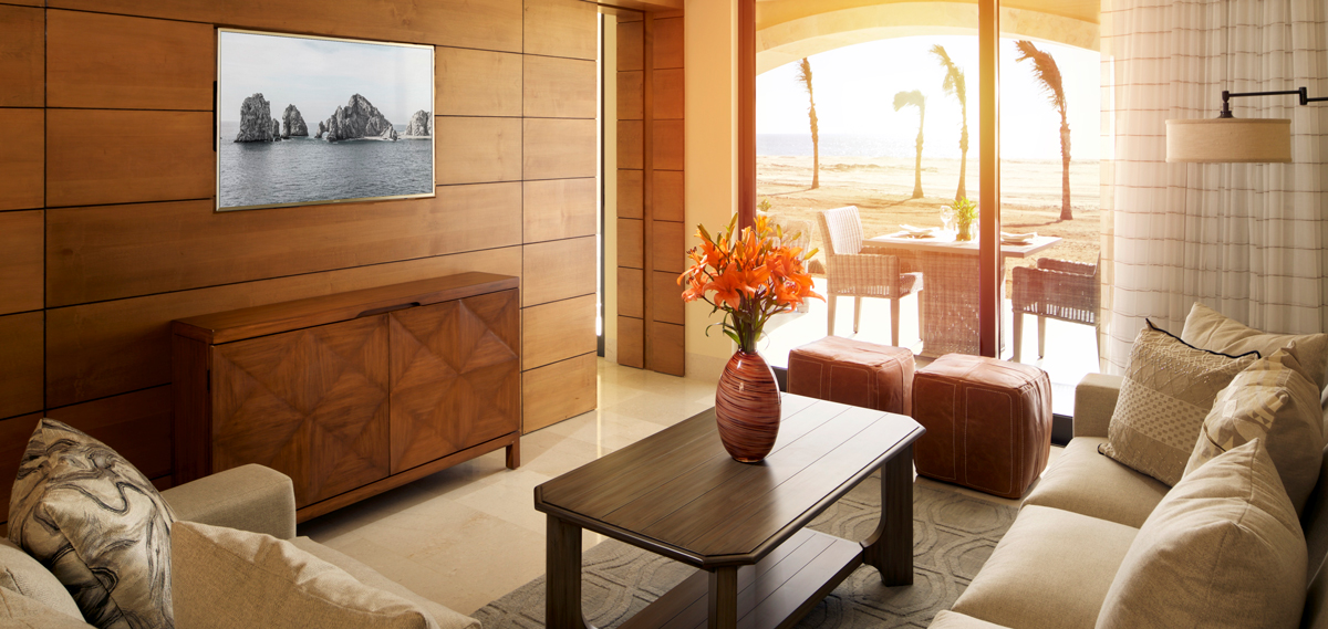 Accommodations:      Grand Solmar at Rancho San Lucas Resort Golf & Spa  in Cabo San Lucas