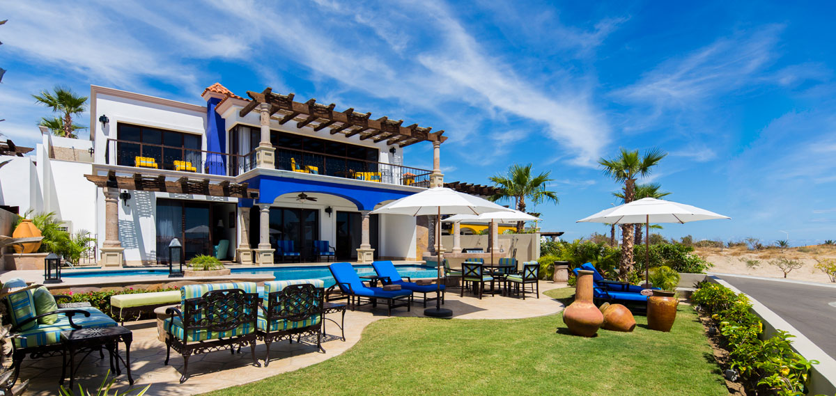 Accommodations:      The Residences at Hacienda Encantada  in Cabo San Lucas