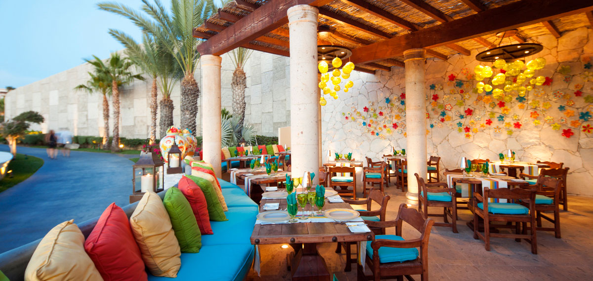 Dining:      The Residences at Hacienda Encantada  in Cabo San Lucas