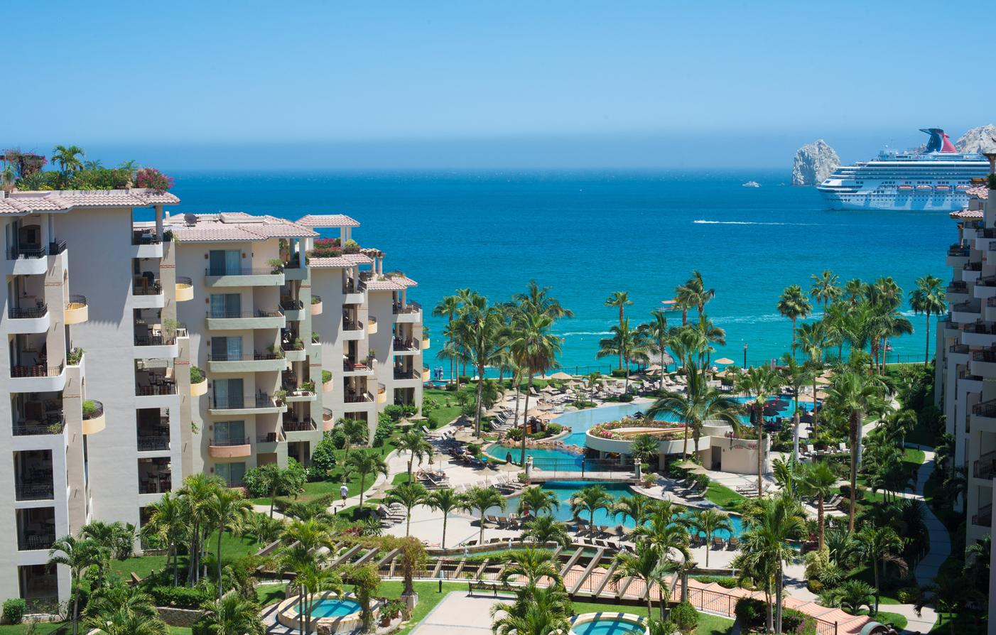 Villa la estancia beach resort spa cabo san lucas for Villas los cabos