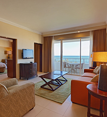 Accommodations:      Caribe Hilton  in San Juan