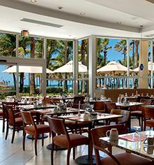 Dining at      Caribe Hilton  in San Juan