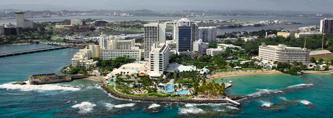 Local Attractions:      Caribe Hilton  in San Juan