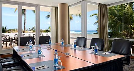 Venues & Services:      Caribe Hilton  in San Juan