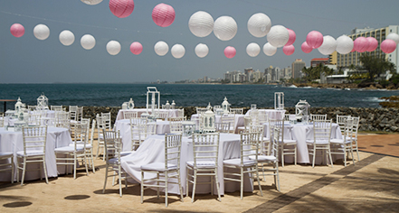 Weddings:      Caribe Hilton  in San Juan