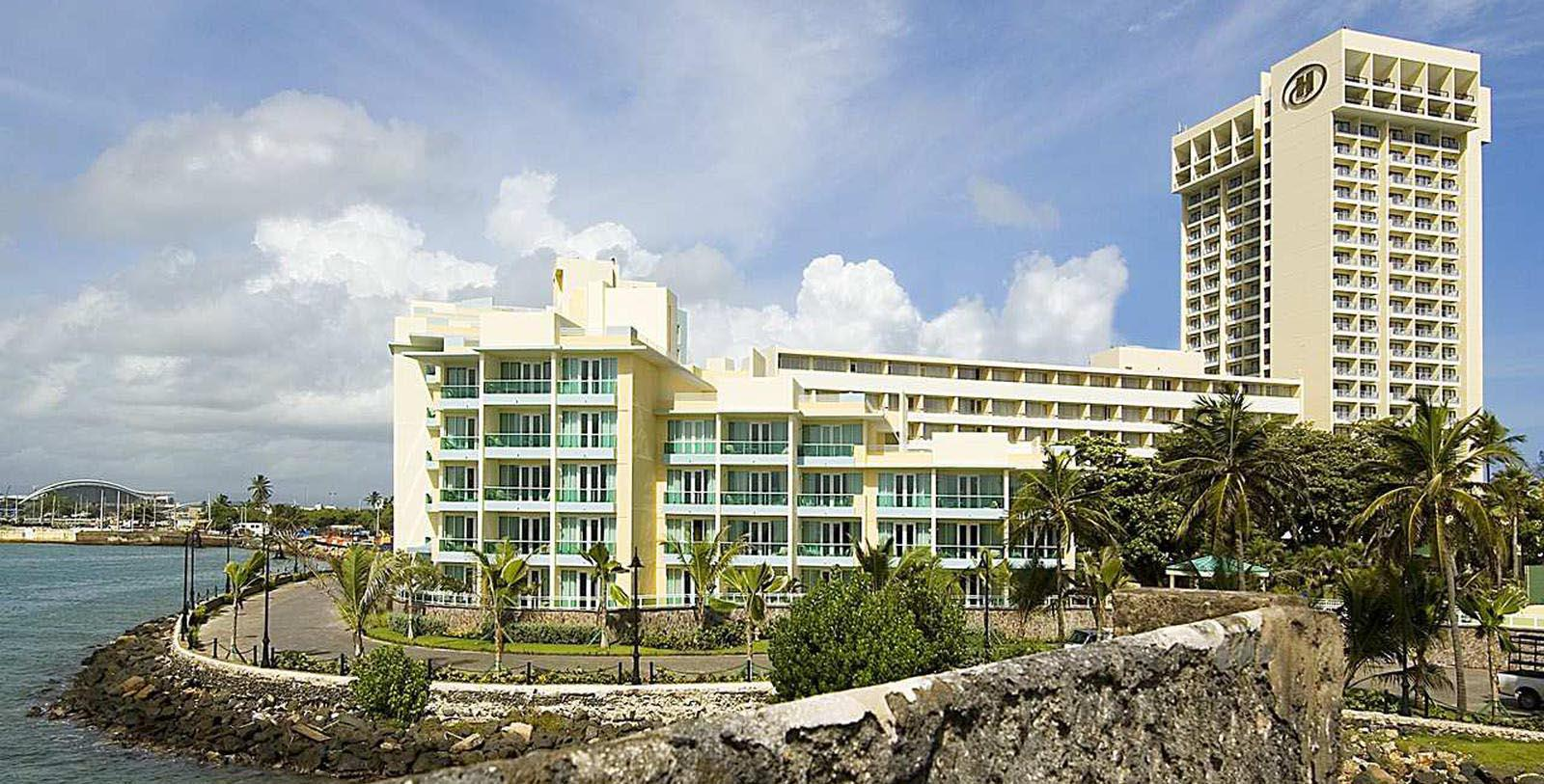 Image of Hotel Exterior at Caribe Hilton, 1949, Member of Historic Hotels of America, in San Juan, Puerto Rico, Overview
