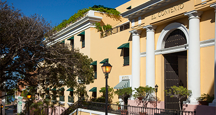 Activities:      El Convento Hotel  in San Juan