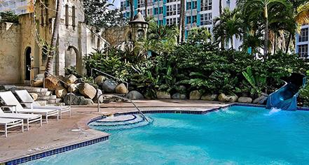 Activities:      The Condado Plaza Hilton  in San Juan
