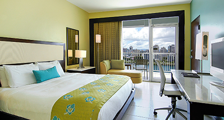 Accommodations:      The Condado Plaza Hilton  in San Juan