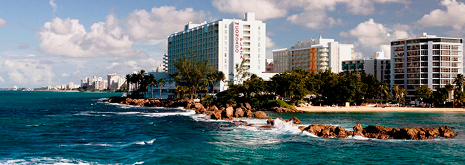 The Condado Plaza Hilton  in San Juan