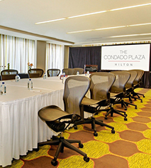 Venues & Services:      The Condado Plaza Hilton  in San Juan