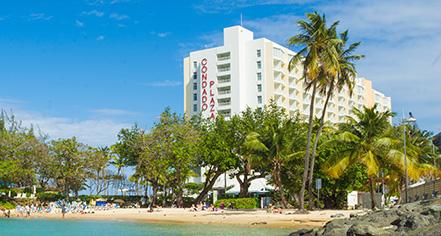 The Condado Plaza Hilton  in San Juan