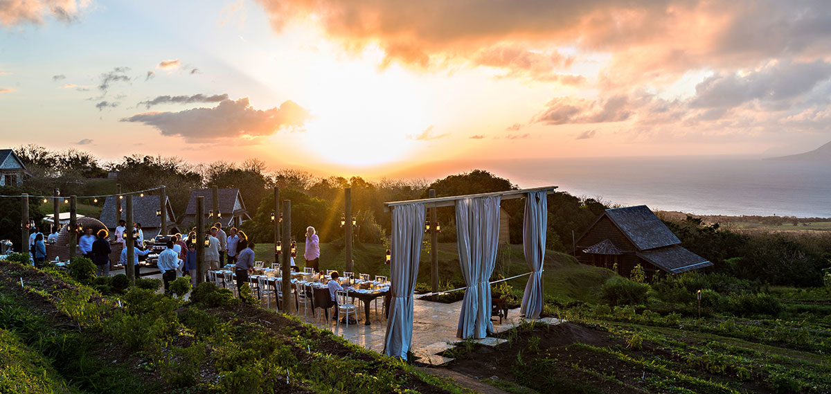 Dining:      Belle Mont Farm  in Saint Kitts