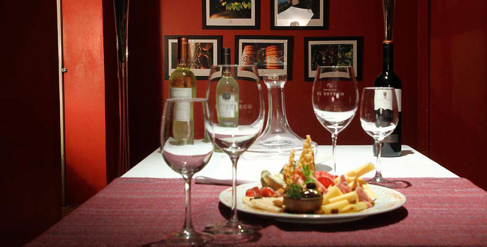 Image of Wine and Entree Patios de Cafayate, 1740, Member of Historic Hotels Worldwide, in Cafayate, Argentina, Taste