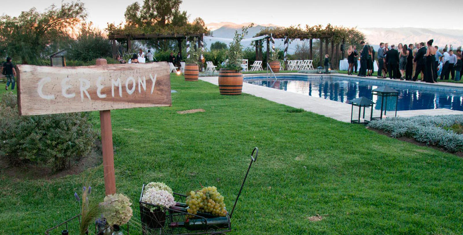 Image of Outdoor Wedding Ceremony Patios de Cafayate, 1740, Member of Historic Hotels Worldwide, in Cafayate, Argentina, Experience